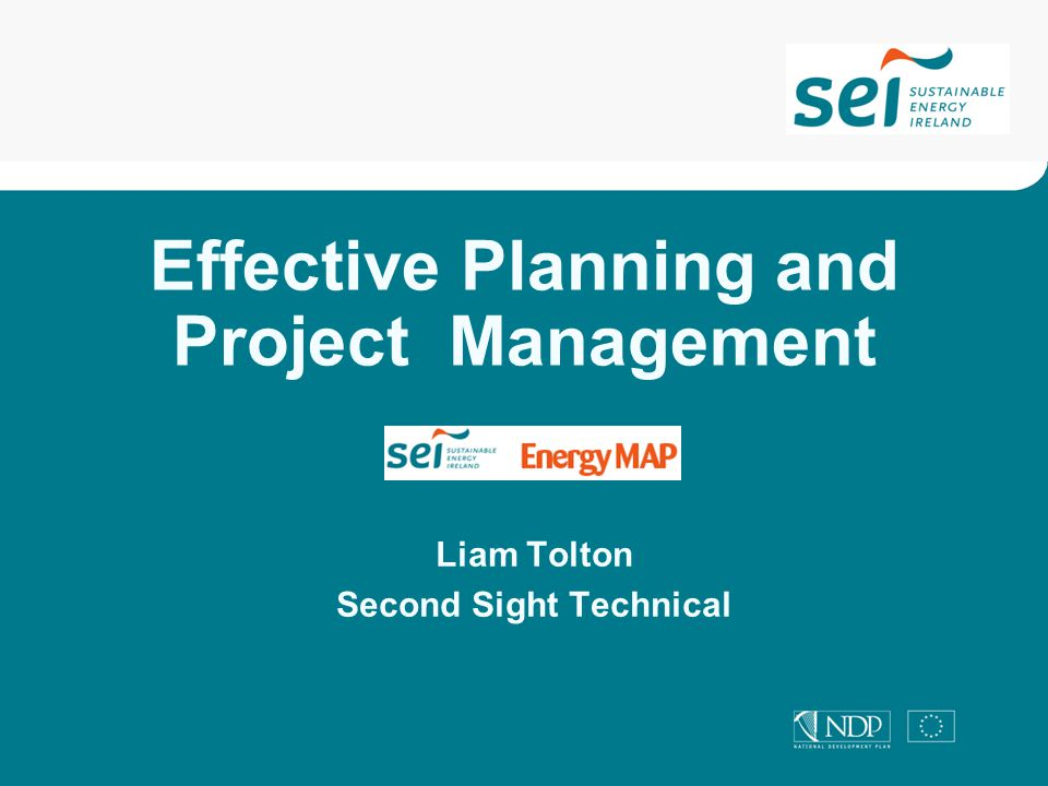 Topics Introduction to Energy Programme Planning Introduction to Project Planning Workshop : How to Prioritise Your Energy Projects Introduction to Project Management Workshop How to Plan Your Energy Projects Linking Projects to Results