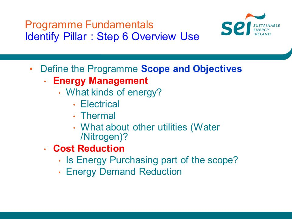 Programme Delivery Link to other Site Wide Initiatives e.g.