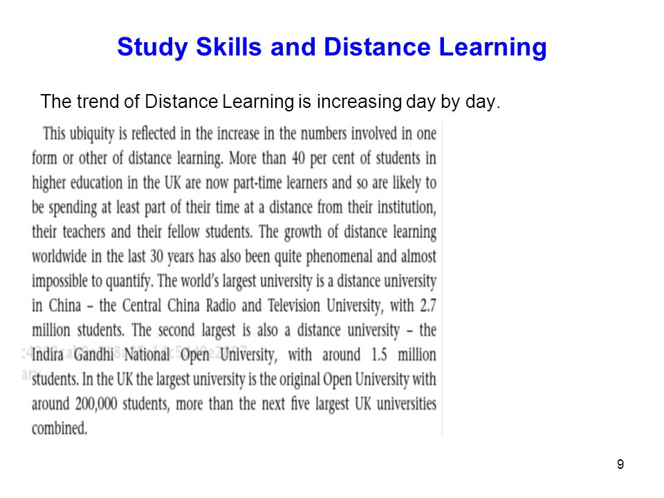 10 Knowing yourself as a distance learner