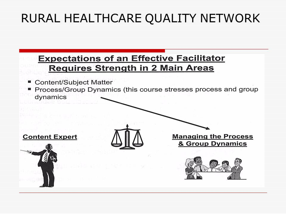 RURAL HEALTHCARE QUALITY NETWORK
