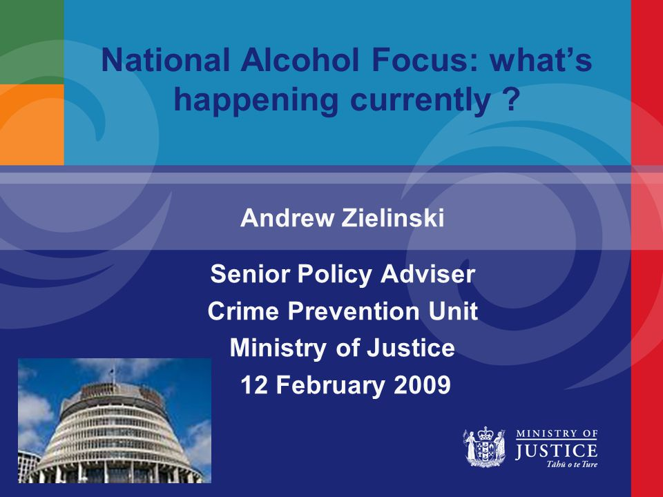 Overview Sale and Supply of Liquor and Liquor Enforcement Bill Law Commission review of the regulatory framework for the sale and supply of liquor National Alcohol Action Plan Griffith University/Wellington research on preventing violence in and around licensed premises