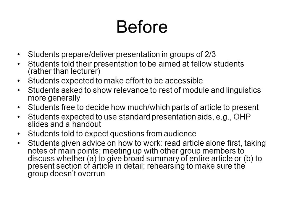 Rationale for presentation Desire to diversify methods of assessment Salford's real-world focus (group work, less reliance on essays or other written work) Desire to encourage reflective practice QCA/Dearing key skills agenda