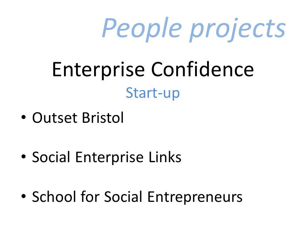 Enterprise Confidence Start-up Outset Bristol Social Enterprise Links School for Social Entrepreneurs People projects
