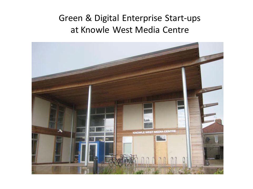 Green & Digital Enterprise Start-ups at Knowle West Media Centre
