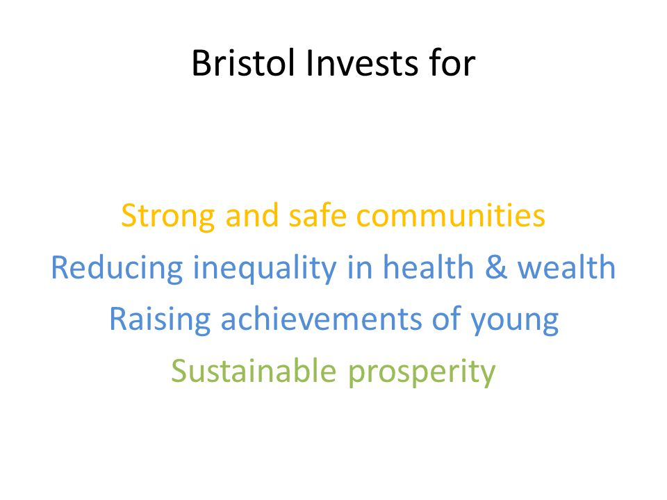 Gainsborough Square Community Trust The Park, Knowle HWV – Hartcliffe and Withywood Ventures Social Enterprise Works BRAVE Bristol City Council Local Investors