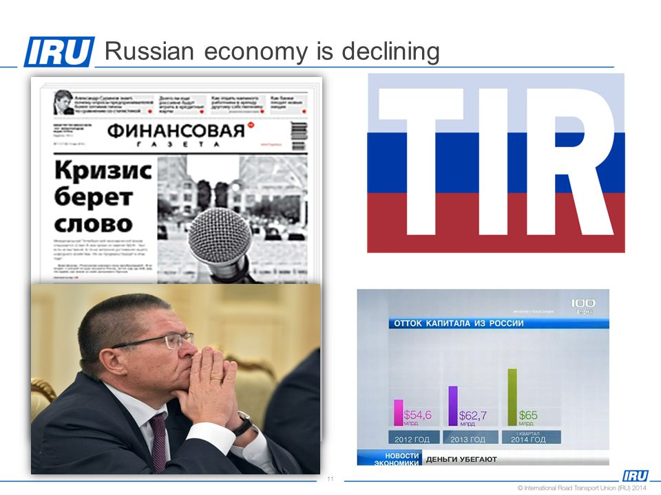 11 Russian economy is declining