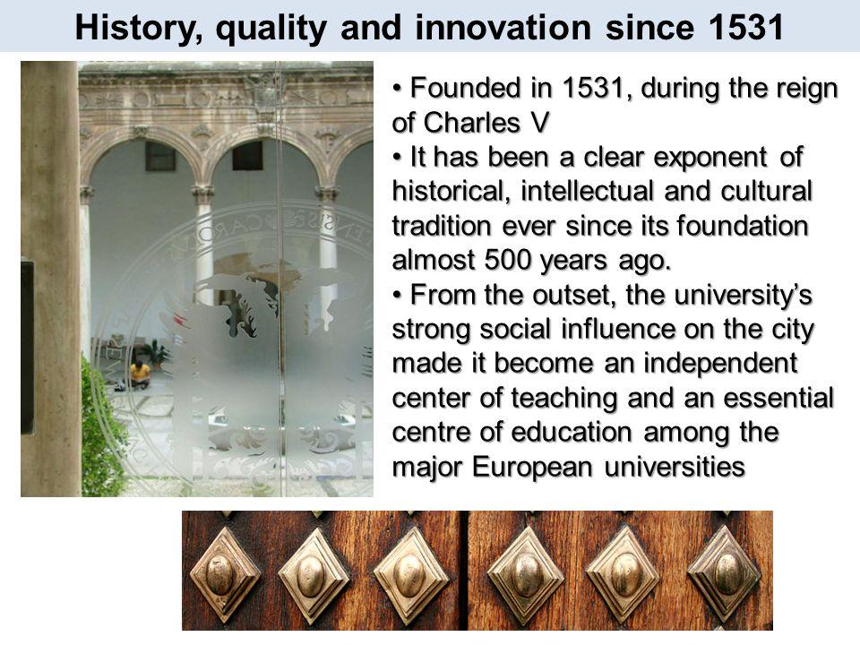 15 reasons to study at the University of Granada Granada seduces you… 13.