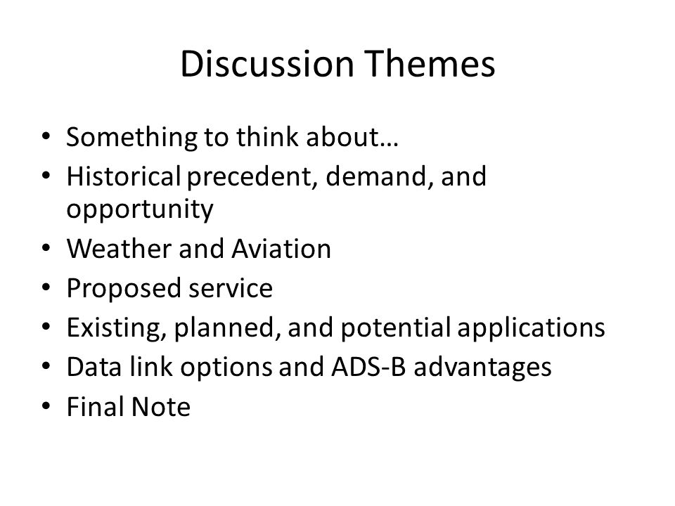 ADS-B Advantages (In ARC) Is already provisioned to broadcast many of the data elements needed to enable future wake solutions.