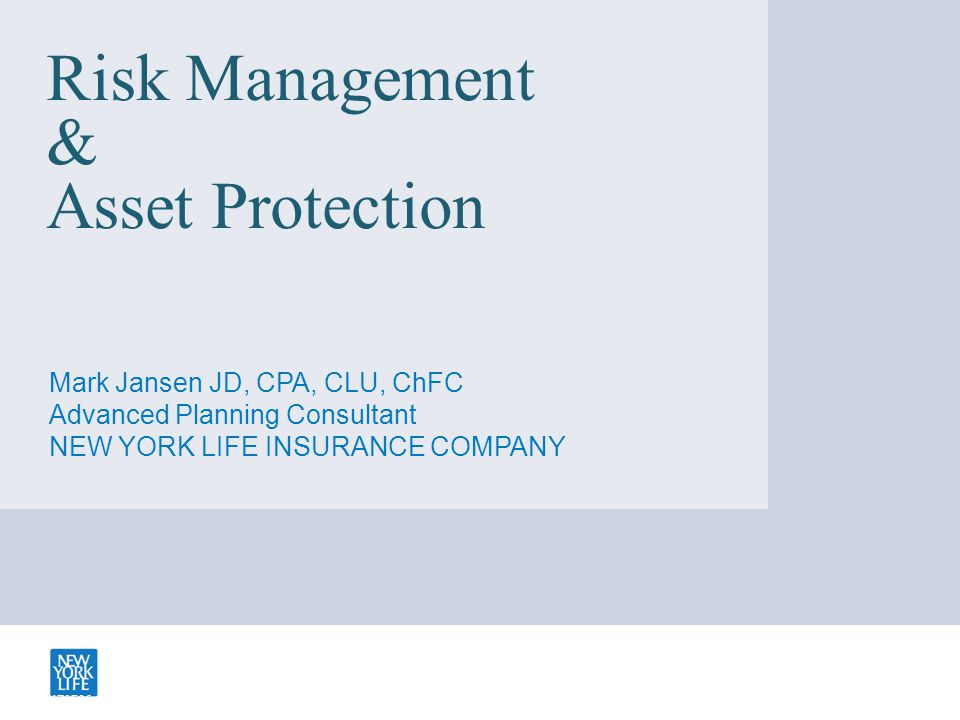 The Comprehensive Asset Protection Plan Business – Revenue Protection – LLC/LP for Real Estate, Equipment, I/P – Qualified Plan Personal: – Exempt assets for investments – Homestead Exemption & Debt Shield for Residence – LLCs/FLPs 2d Home, Investment Real Estate, Portfolio – Living Trusts, ILITS, GRATS, QPRTS, etc.