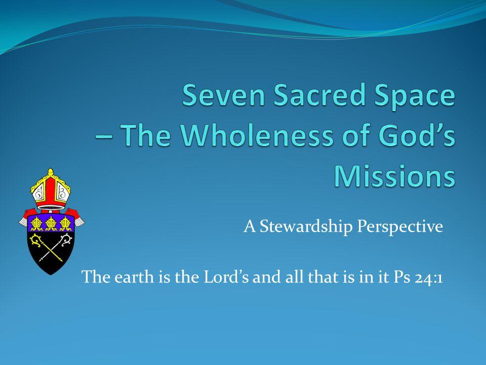 7 Sacred 'spaces' Cell Chapel Chapter Cloister Garden Refectory Scriptorium