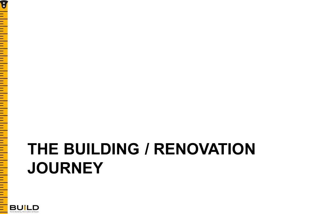 THE BUILDING / RENOVATION JOURNEY