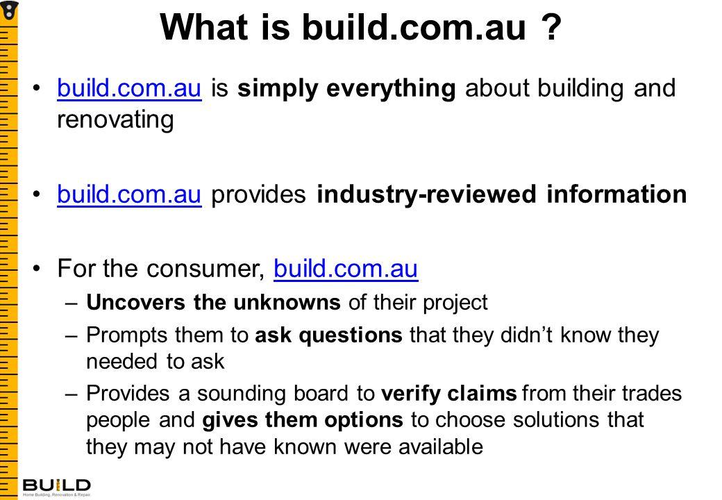 What is build.com.au .