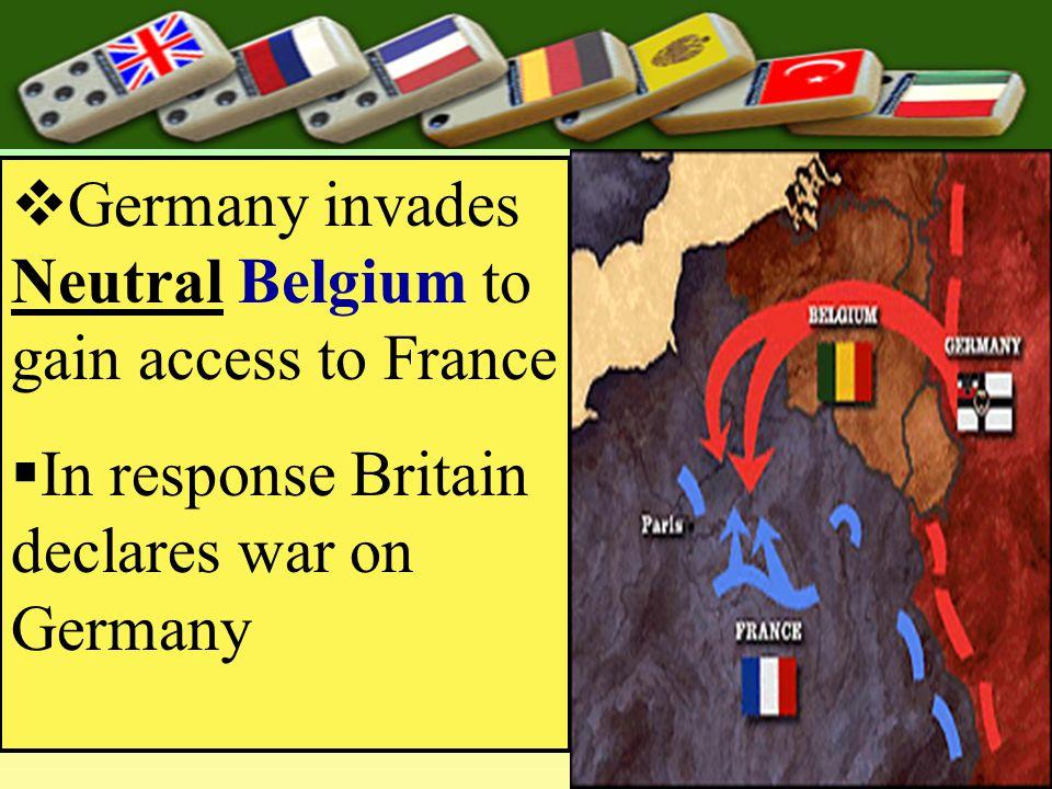  Alliance System Kicks in  Germany offers Aust.