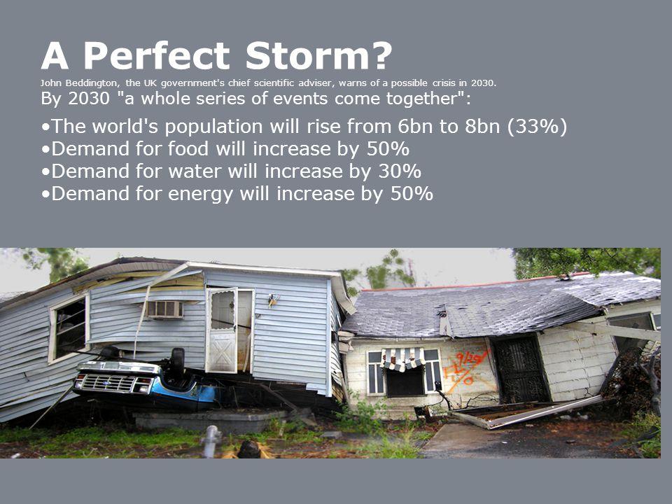 A Perfect Storm.