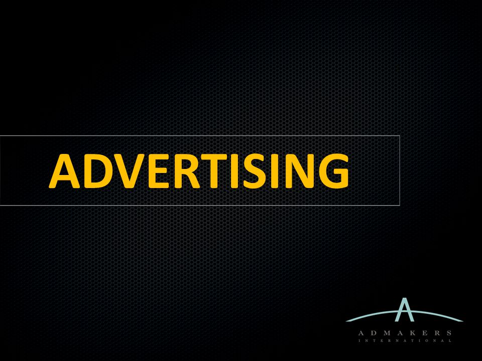 Advertising | Keep in Mind Effectiveness = KING What works vs That's nice... .