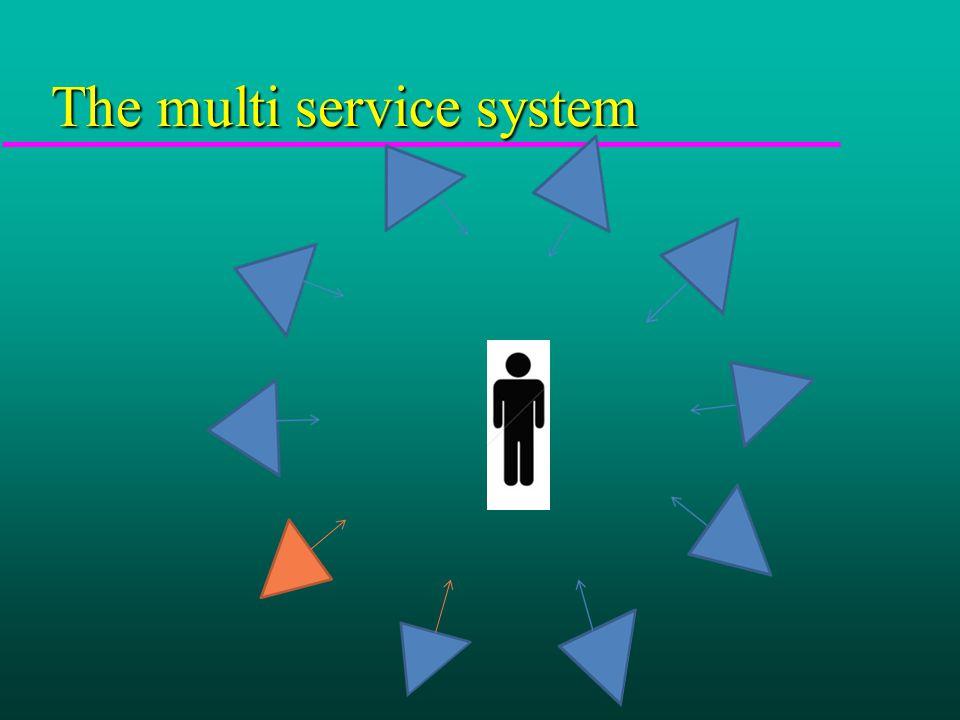 The multi service system
