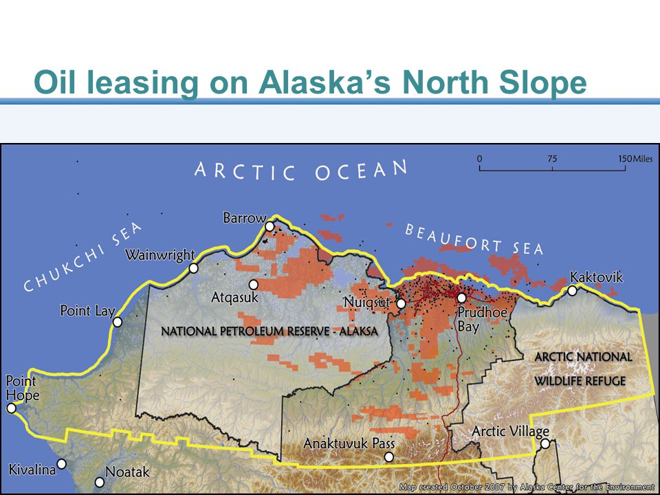 Oil leasing on Alaska's North Slope