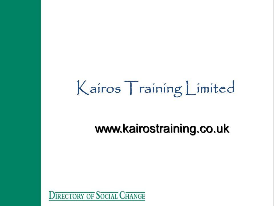 Kairos Training Limited www.kairostraining.co.uk