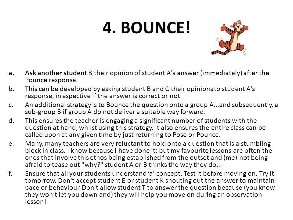 4. BOUNCE.