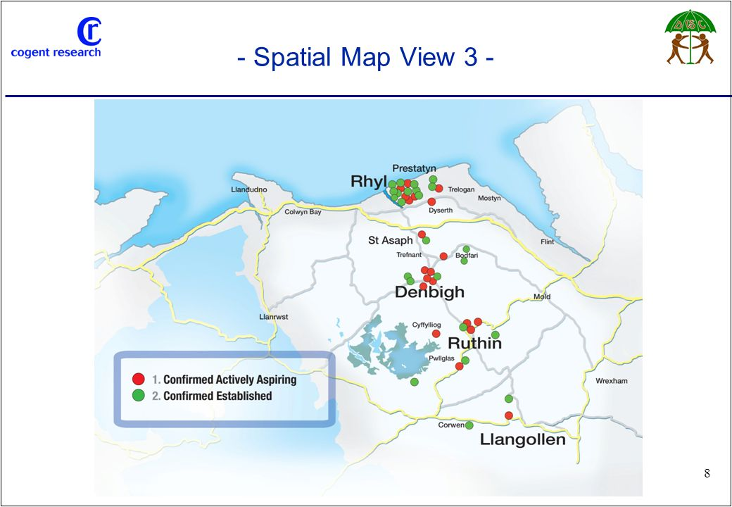 www.cogentresearch.co.uk 29 - The Name – 'Social Enterprise Network Denbighshire' - Some issues to overcome from the outset… – Social enterprise – people do not understand the term even those engaged in it find it ambiguous – 'Denbighshire' – border issue, respondents fear cohesiveness would be lost if the Network were restricted to solely Denbighshire – Social Enterprise Network Denbighshire – as a title deemed to lack 'clout', 'not punchy enough' – Network – term misleading gives social firms the impression it will be primarily a 'talking shop' Respondents used the following terminology which could be incorporated in to a name:- – Link, hub, net, community, connected, forum – 'Enterprising socially for the benefit of society' – The name chosen was felt to need inspiration along the lines of 'Rhyl Going Forward' – an uplifting, positive identity