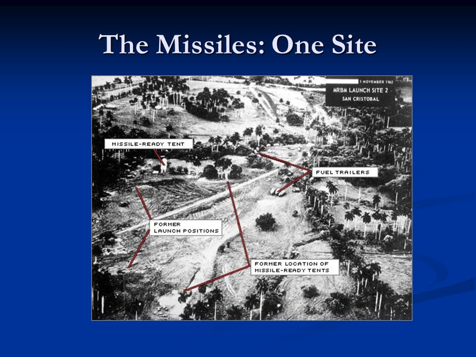 The Missiles: One Site
