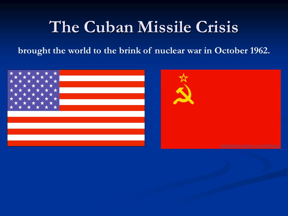 Who do you think won the missile crisis.Kennedy, Khrushchev or neither.