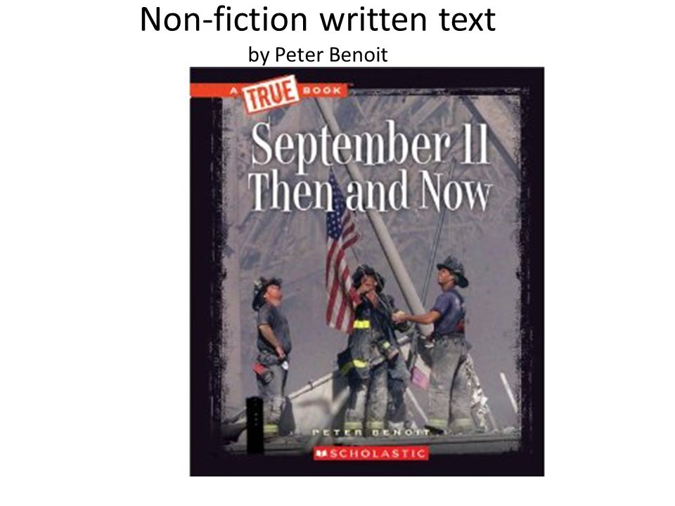 Non-fiction written text by Peter Benoit