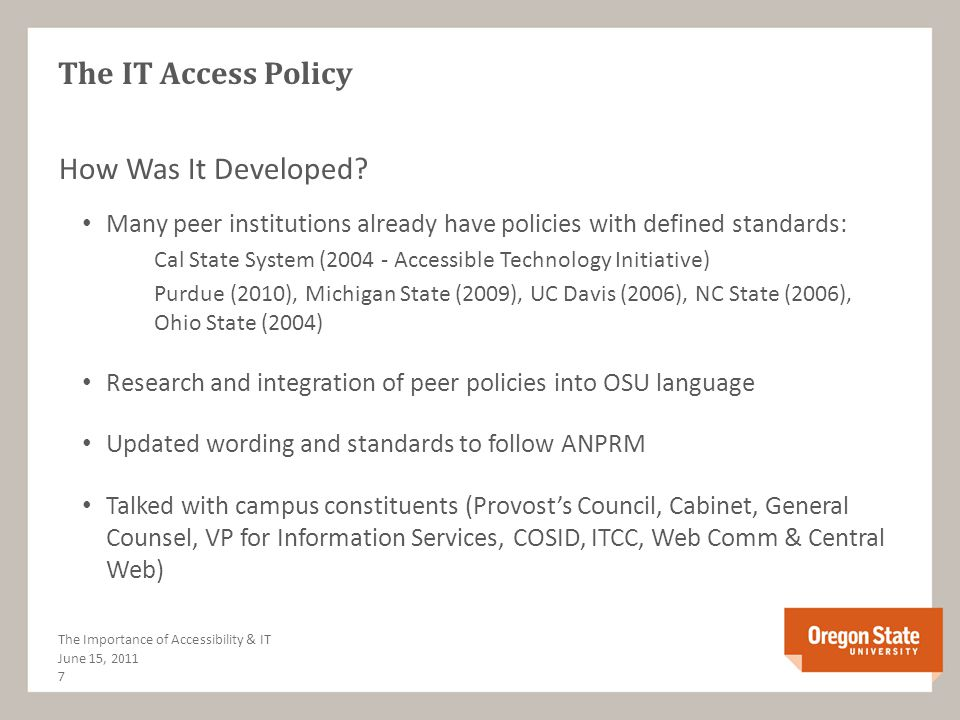 Why Web Accessibility Should be a Focus Business Sense Accessibility standards have been researched and vetted to work with all emerging technologies