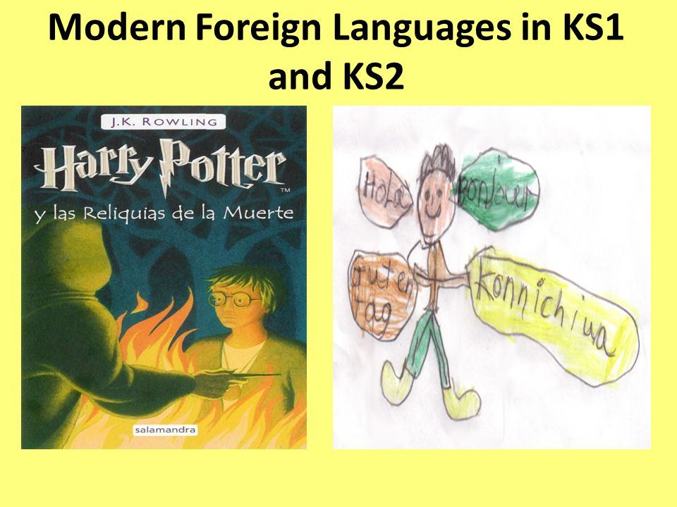 Modern Foreign Languages in KS1 and KS2
