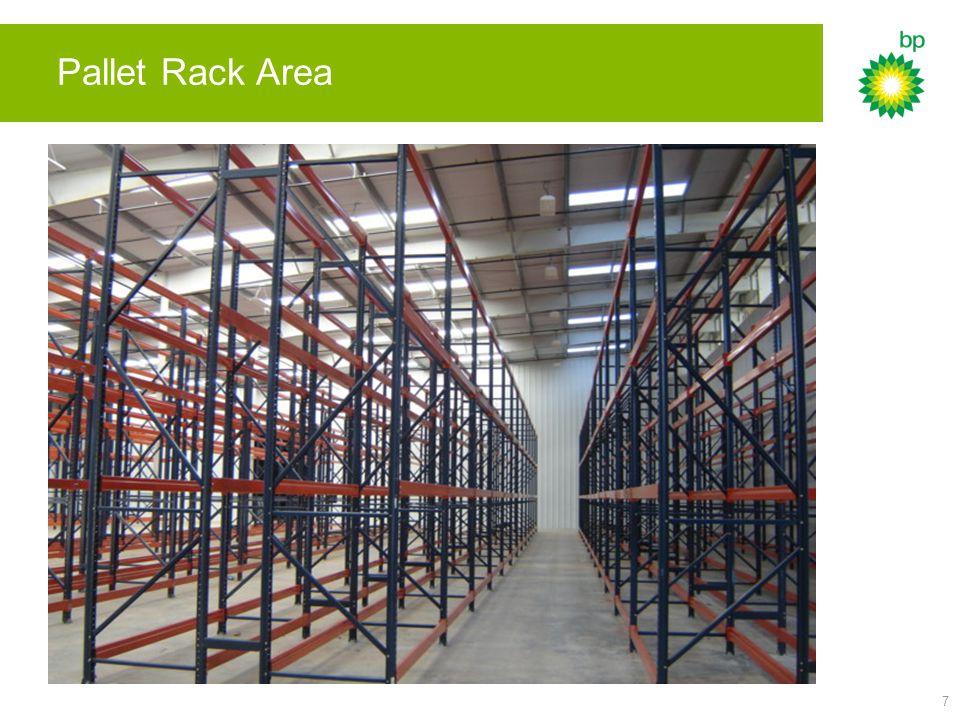 7 Pallet Rack Area