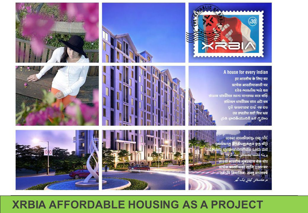 XRBIA AFFORDABLE HOUSING AS A PROJECT