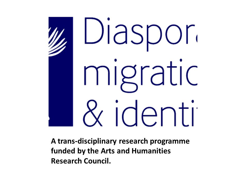 A trans-disciplinary research programme funded by the Arts and Humanities Research Council.
