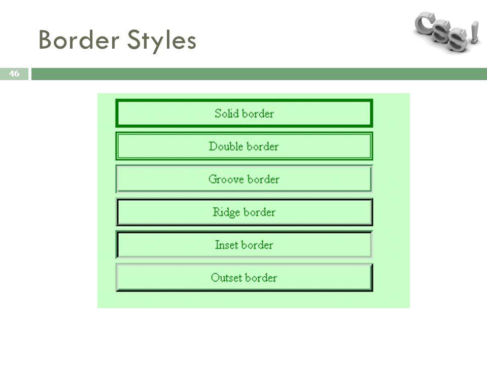 Border Styles 46