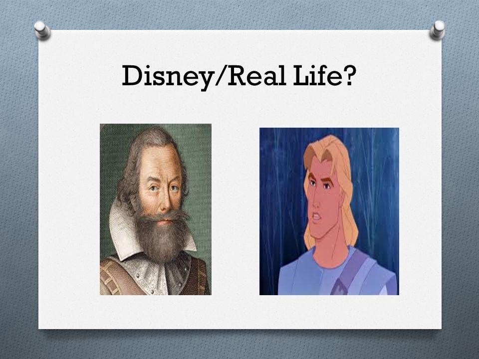 Disney/Real Life