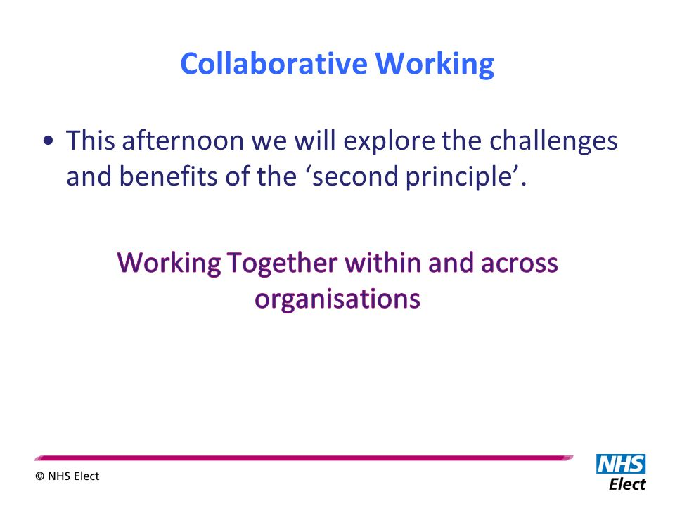 Collaborative Working