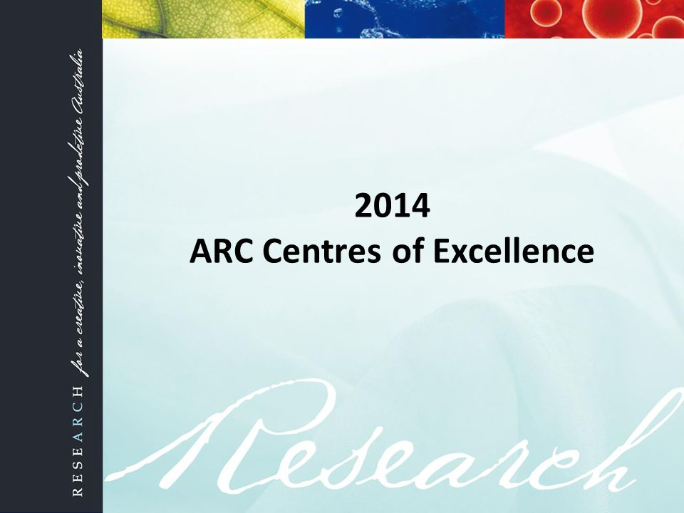 2014 ARC Centres of Excellence
