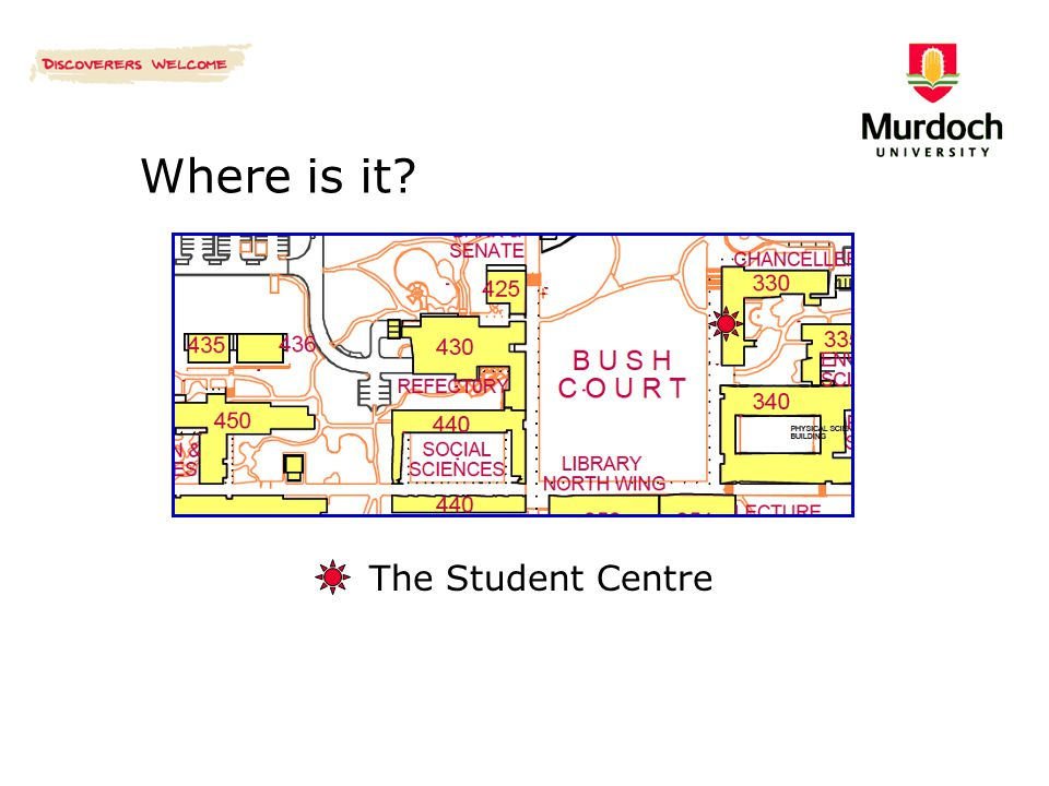 Where is it? The Student Centre