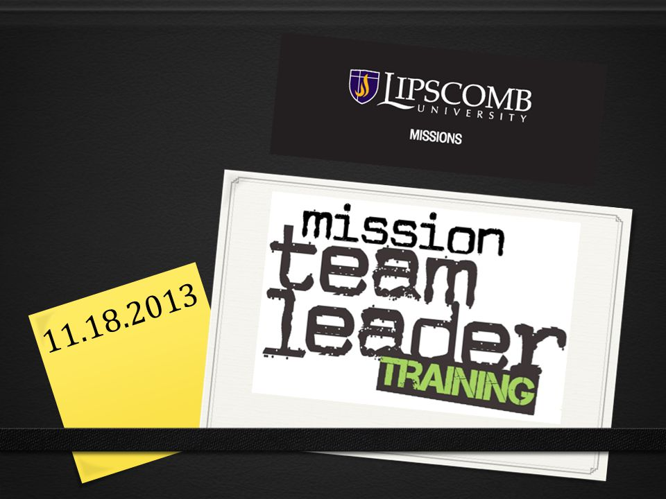 The Last Few Weeks  Missions Fair  Info Sessions  DISCOVER  Commitment Week