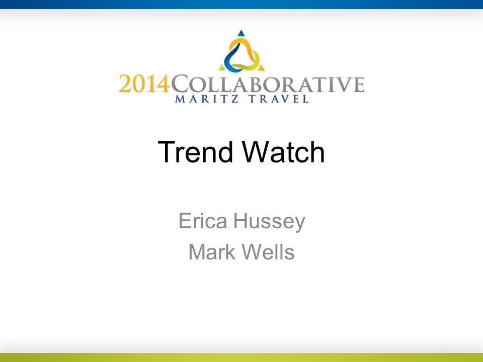 Trend Watch Erica Hussey Mark Wells