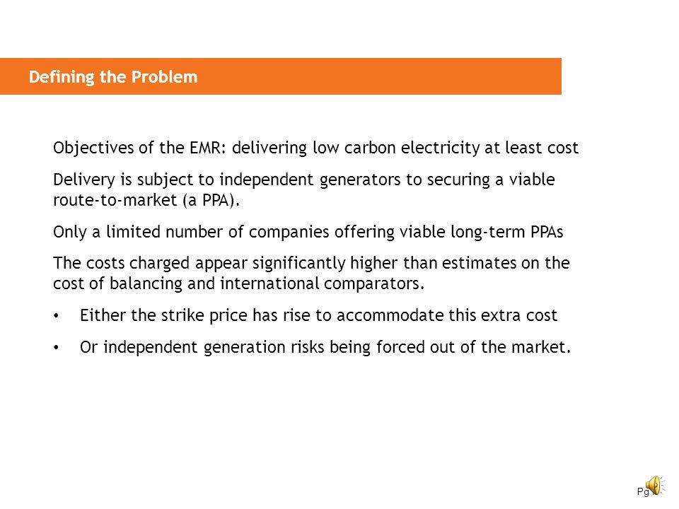 Green Power Auction Market: Viable Independent Generation under EMR Falck Renewables Pg 6
