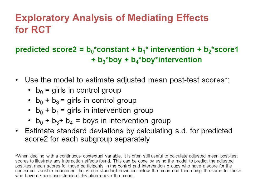 What is meta-analysis.