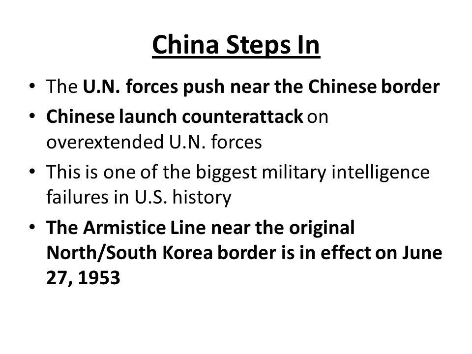 China Steps In The U.N.