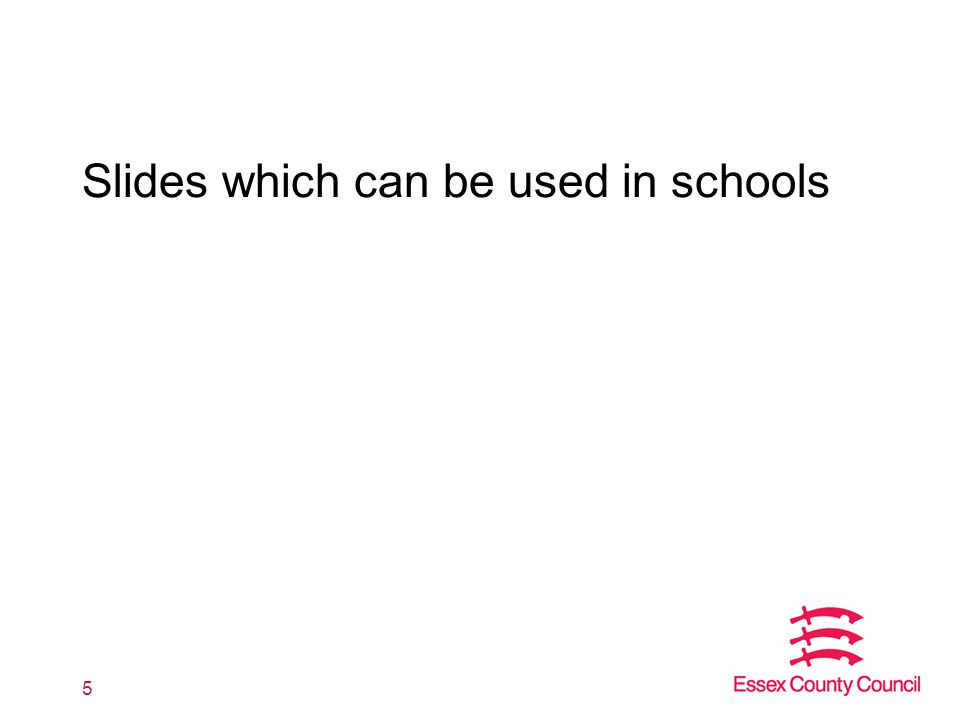 Slides which can be used in schools 5