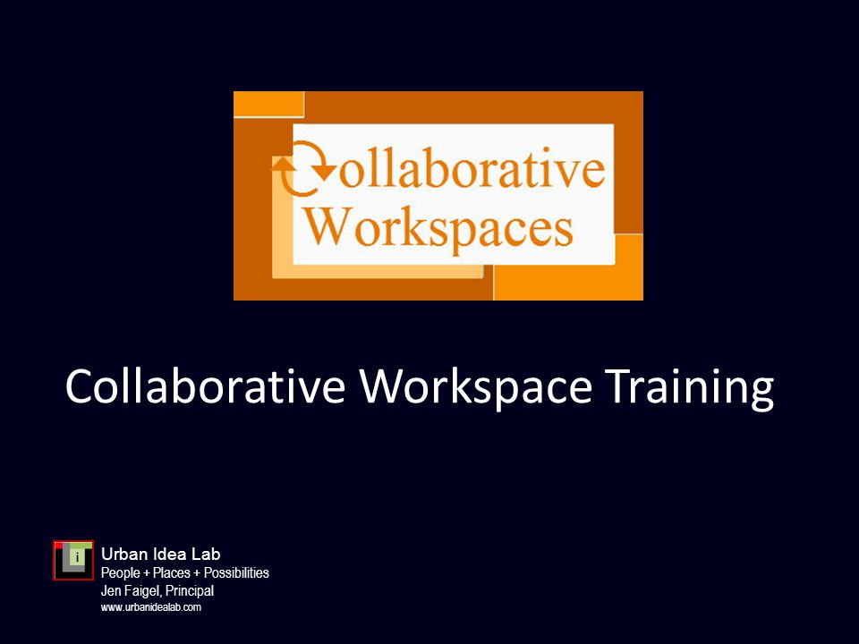1.What are collaborative workspaces.2.Why should you consider collaborative workspaces.