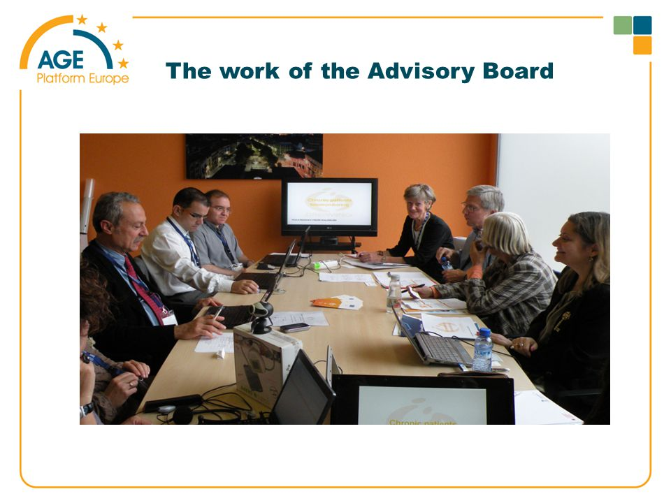 The work of the Advisory Board