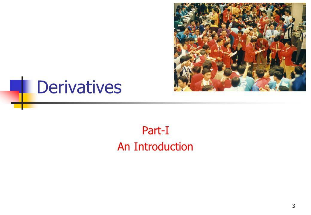 3 Derivatives Part-I An Introduction