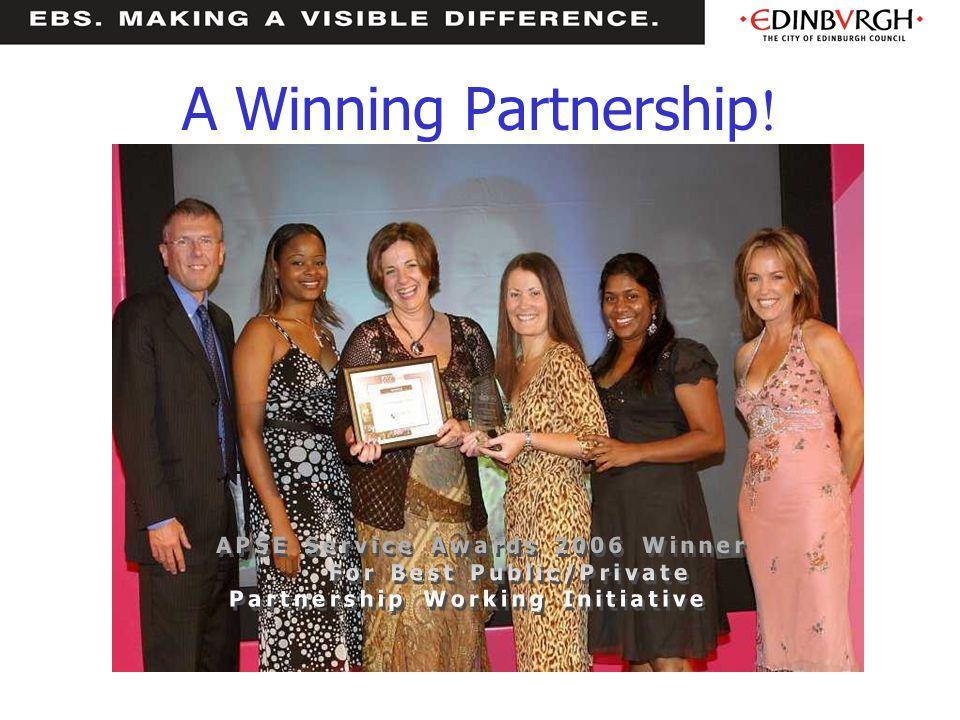 A Winning Partnership !