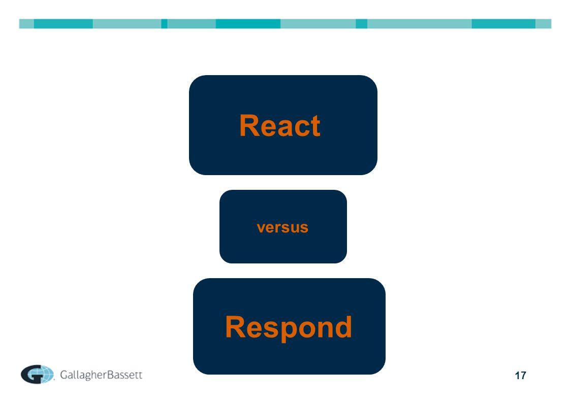 17 React Respond versus