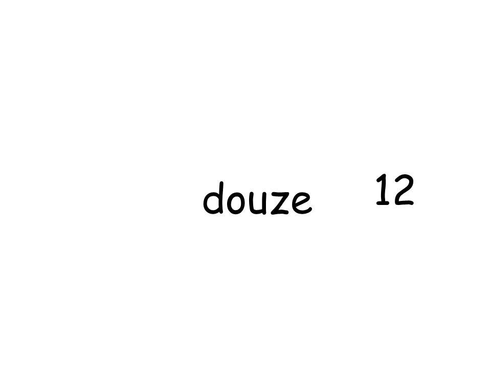douze 12