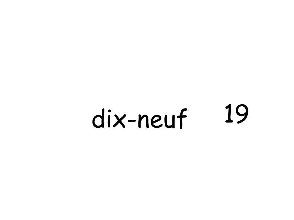 dix-neuf 19